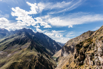 2 day hike into and out of Colca Canyon, Arequipa Peru