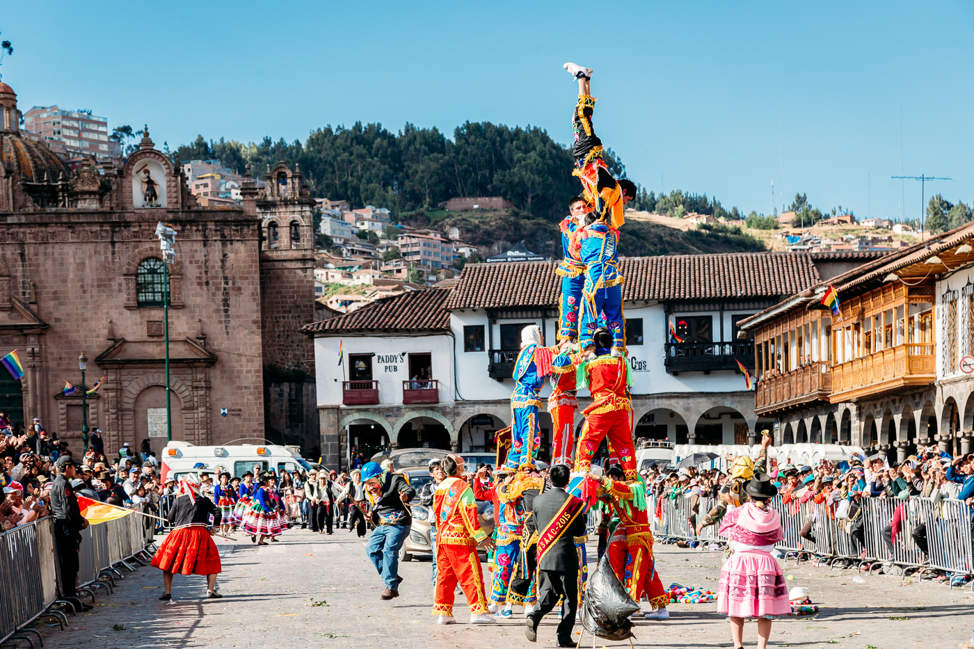 Cusco Inti Raymi Festival -16- June 2015