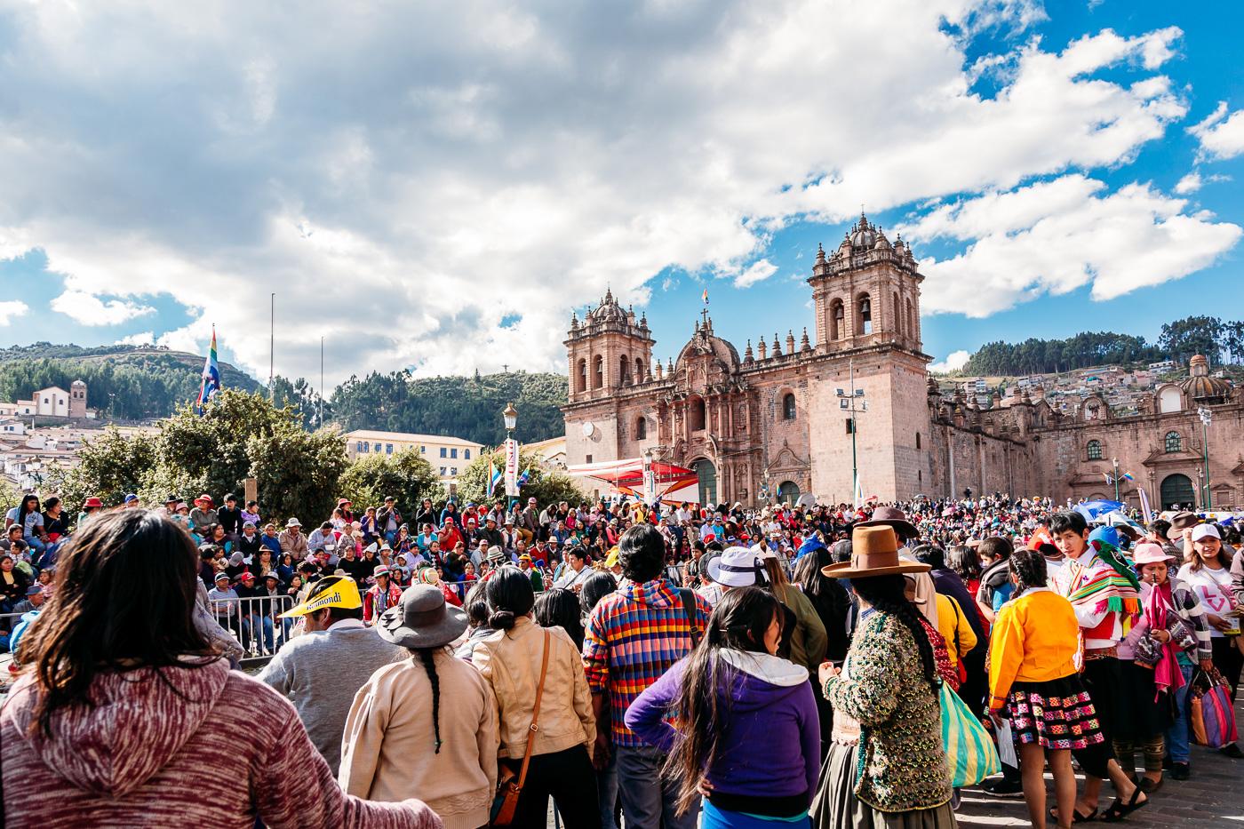 Cusco Inti Raymi Festival -7- June 2015