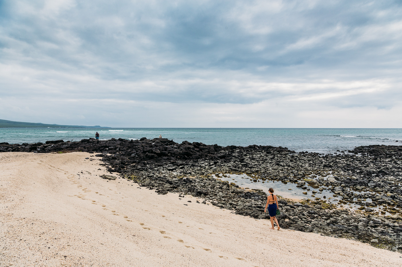 Playa Lobos, Isla San Cristobal, Galapagos