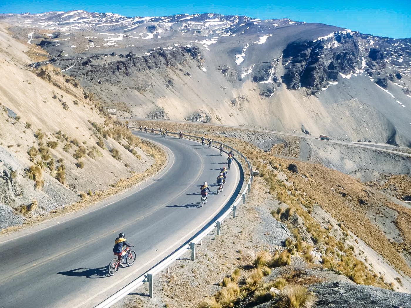 Death Road Biking Bolivia -14- July 2015