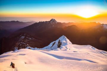 Huayna Potosi Mountain Climbing in Bolivia