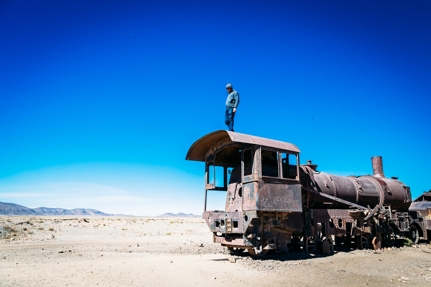 Railroad Cemetary, Salar de Uyuni, Bolivia July 2015