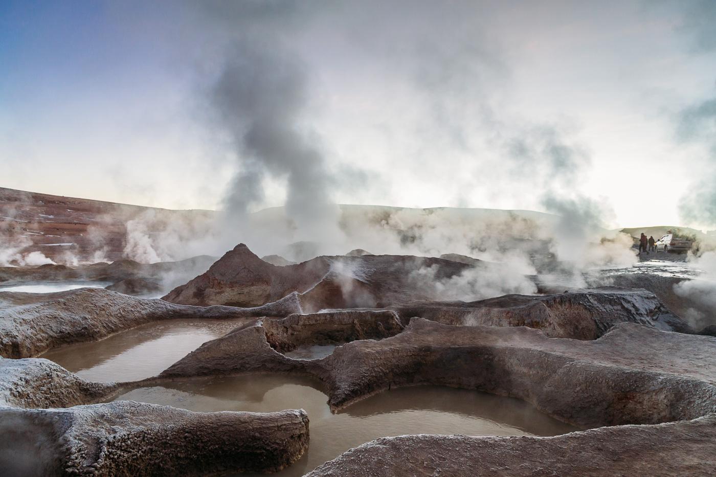 Sol de Manana Geisers, Bolivia