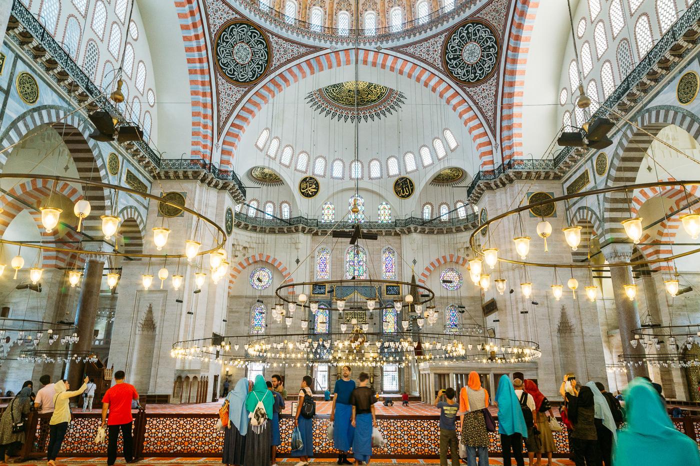 A visit to Süleymaniye in Istanbul, Turkey