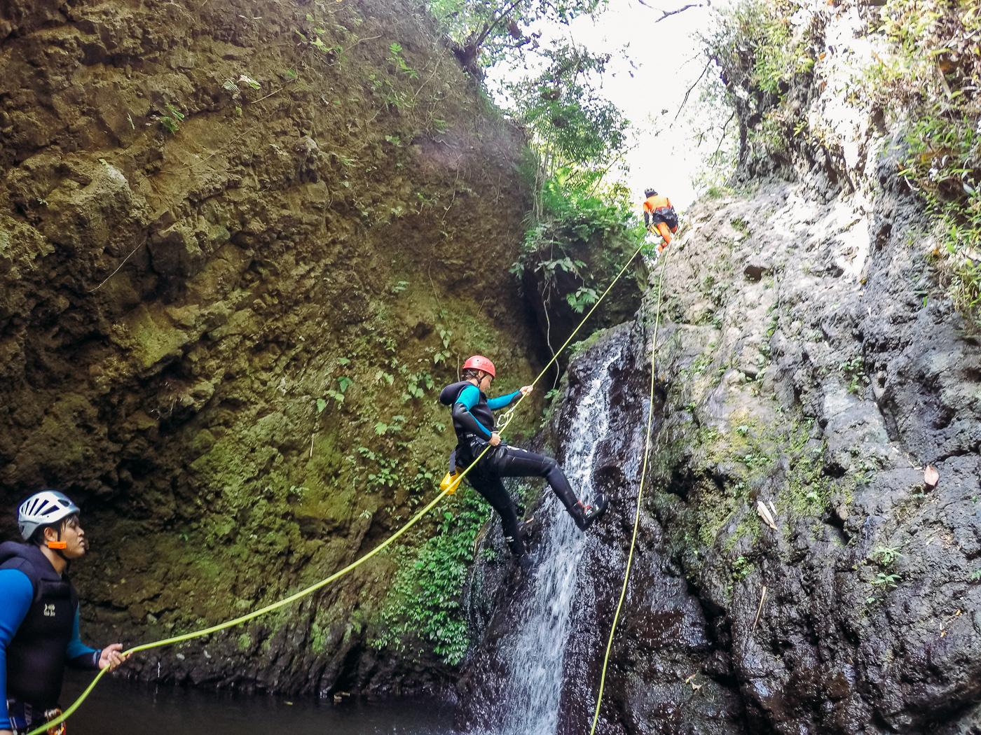 Canyoning Bali Bold Travel