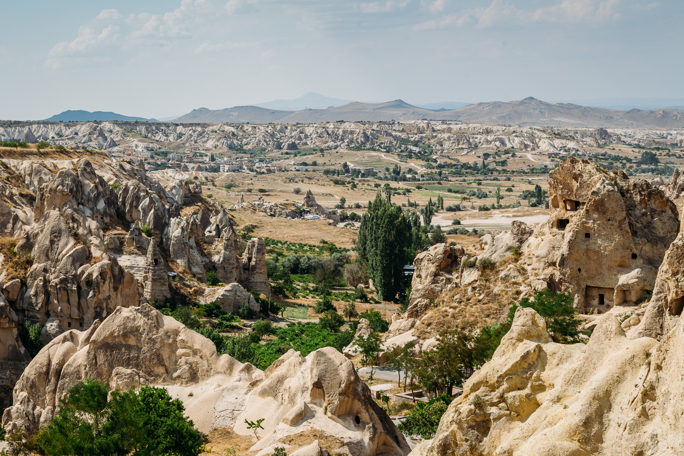 We spent 1 hour in total exploring the religious buildings of the Goreme Open Air Museum in Cappadocia