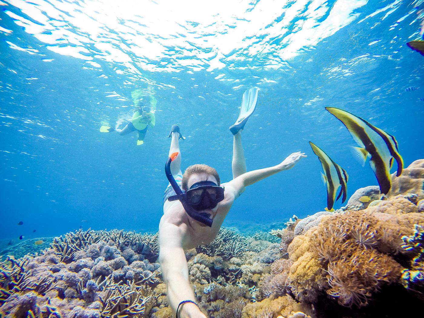 Manta Ray Snorkeling On Nusa Lembongan