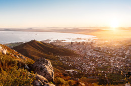 Visiting Cape Town's Lion's Head Summit at Sumrise