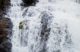 Canyoning Dalat Vietnam with Viet Challenge Tours