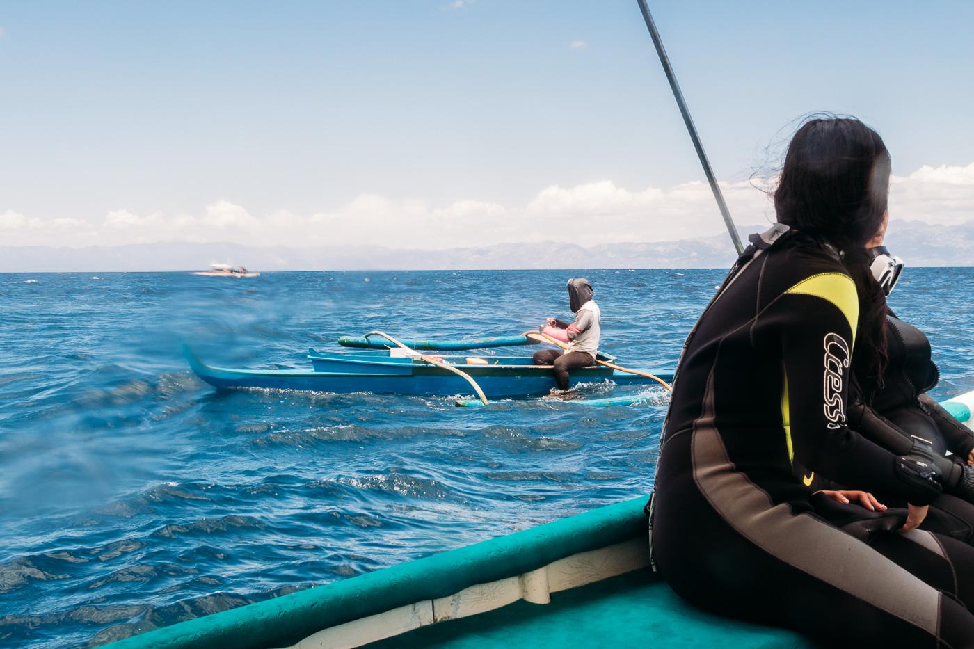 local fishermen of Moalboal Philippines